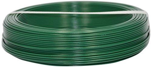 Corderie Italiane 002014096 Filo Ferro Plastica, Verde, 2.7 mm, 100 m