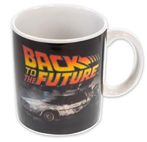 """Zurück in die Zukunft Tasse Serie """"Classic Film"""" - aus Porzellan, Füllmenge ca. 320 ml., kommt in schöner Geschenkverpackung."""