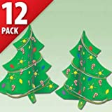 Foam Craft Kits - Christmas Trees 12ct