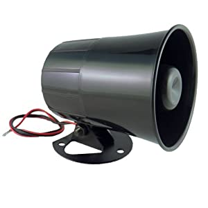 6 Tone Universal Replacement Security Alarm Siren