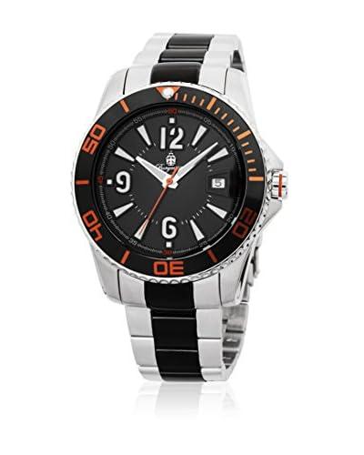 Burgmeister Reloj de cuarzo 531-127B Plateado / Negro 43 mm