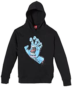 Santa Cruz Sweat-shirt pour enfant Screaming Hand Noir noir xl