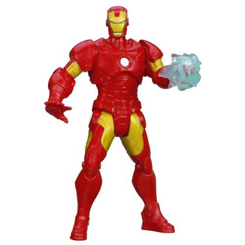 Marvel Mighty Battlers Arc Strike Iron Man Figure