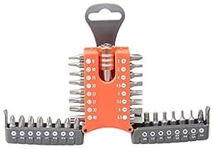 Lifetime Tools 76055 33 Embouts de visserie dans coffret compact design de poche