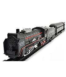 Catterpillar 19 Pcs Battery Operated Classical Toy Train Set