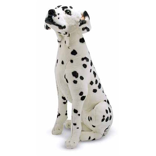 Melissa & Doug Plush Dalmatian back-17950