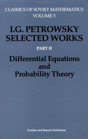 Differential Equations (Classics Of Soviet Mathematics) (Pt. 2)