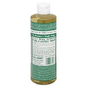 Organic Almond Castile Liq Soa