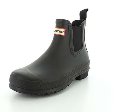 Hunter Womens Two Toned Chelsea Rain Boot | Amazon.com