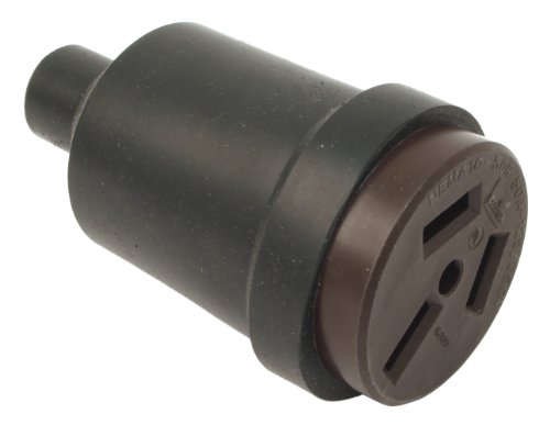 Forney 58400 Electrical Receptacle, Crowfoot Type, Portable, 50-Amp, 125/250-Volt