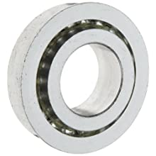 The General 30000 Unground Flanged Series Ball Bearing, Single Row, Full Ball Complement, Open, Flanged, Normal Clearance