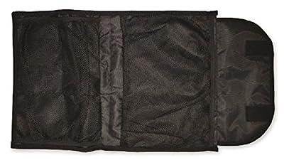 """Reusch Soccer Multi Compartment Goalkeeper Glove Bag, Black, 19"""" x 13"""""""