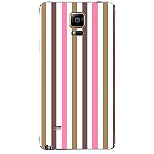 Skin4gadgets Famous Neapolitan Ice Cream Stripes Pattern No.21 Phone Skin for SAMSUNG GALAXY NOTE 4 (N910)