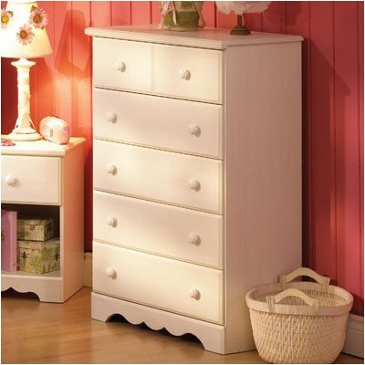 Bundle-68 Summer Breeze White Wash Five Drawer