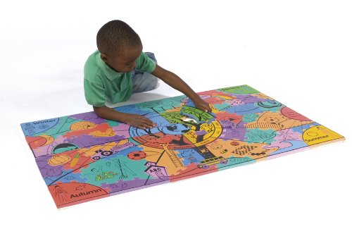 Picture of Chenille Kraft WonderFoam® Giant Four Seasons Activity Puzzle (B003E7FABU) (Floor Puzzles)