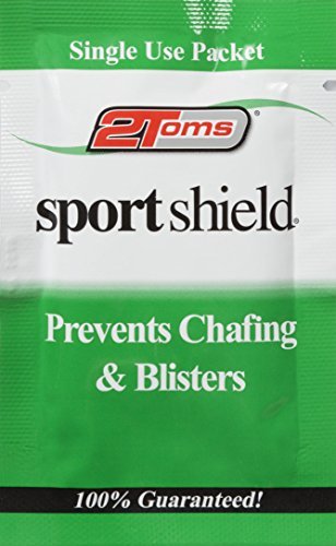 2Toms Sport Shield singoli schermatura salviette, confezione da 10), unisex, SportShield, White, N/A