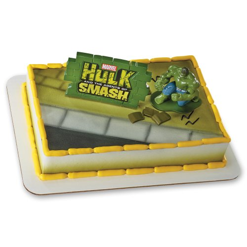 Decopac The Incredible Hulk Agents of Smash DecoSet Cake Topper