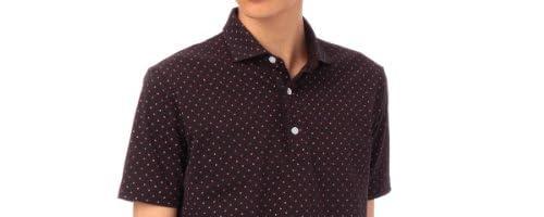 タケオキクチ(TAKEO KIKUCHI) ポロシャツ(クールマックス(R)カノコプリントポロ)