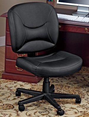Black Friday Vinyl Office Task Chair Black Cyber Monday