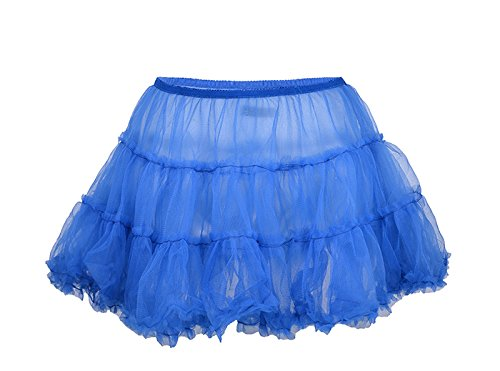 Edler Short 2-lagiger Vintage Mini Tüllrock / Petticoat Rockabilly