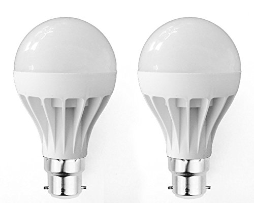 Super Eco 9W LED Bulbs (Cool White, Pack of 2)