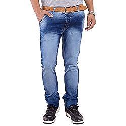 URBAN FAITH Blue Slim Fit Jeans