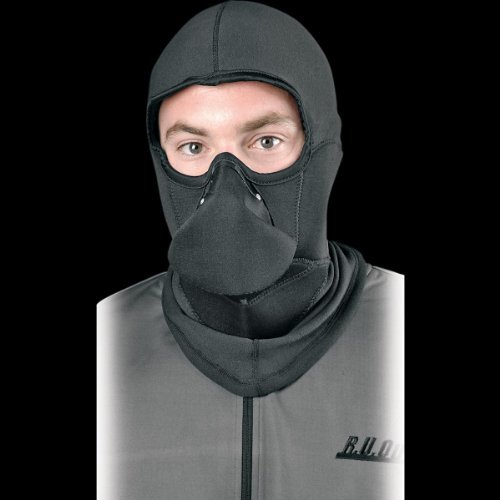 RU Outside Fog Evader-Balaclava Combo , Size: OSFA, Gender: Mens/Unisex, Primary Color: Black FOGEVDRCMBOPAK by R.U. Outside