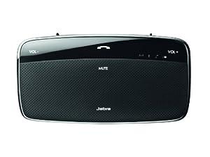 Jabra Cruiser 2 Bluetooth-Kfz-Freisprecheinrichtung (dtsch. Verpackung, dtsch. Sprachausgabe) schwarz