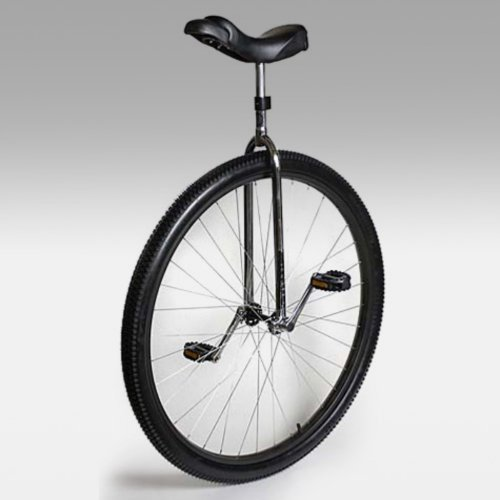Nimbus Titan 36 Inch Commuting / Touring Unicycle - Chrome