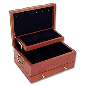 Jewelry accessories jewelry boxes organizers for Reed barton athena jewelry box