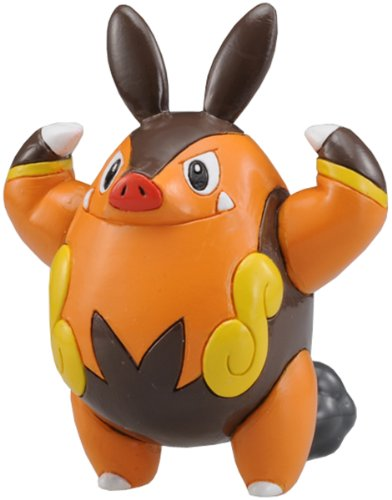 "Takara Tomy Pokemon Monster Collection Mini Figure - 1.5"" Chaobu / Pignite (M-016) (Japanese Import)"