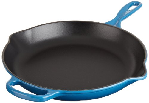 Le Creuset Signature Iron Handle Skillet, 11-3/4-Inch, Marseille