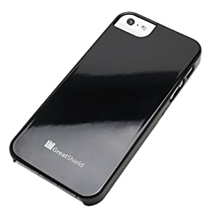 GreatShield Guardian UV Glossy Series Slim Fit Protector Case for Apple iPhone 5 (Black) – Apple iPhone 5 Cases and Covers