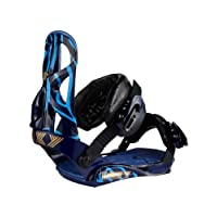 Roxy Team Snowboard Binding (Blue, M/L)