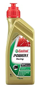 Castrol 22415600 Huile Power 1 Racing 4T 10W-40 1 l