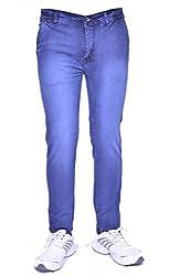 Rank Men's Jeans Slim Fit (pddb30_DarkBlue_30)