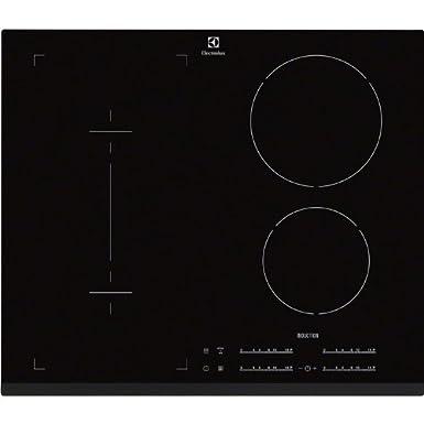 Electrolux EHI6540FOK plaque - plaques (Intégré, induction, verre-céramique, Noir, toucher, En haut à droite)
