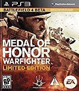 Medal Of Honor WARFIGHTER  (edicion Limitada) Battlefield 4 Beta PS3