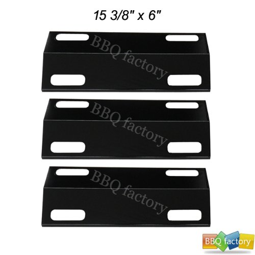 99351(3-Pack) Porcelain Steel Heat Plate Replacement For Select Ducane Gas Grill Models