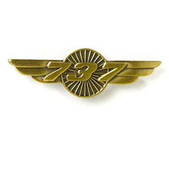 Boeing 737 Wings Pin : Pins: www.boeingstore.com/Boeing-737-Wings-Pin/dp/B0051PHTTO