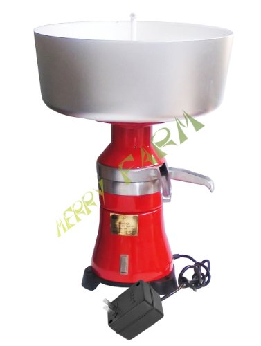 Milk Cream Electric Centrifugal Separator 80 L/H (Metal Body & Metal Drum) 110 V Usa/Canada