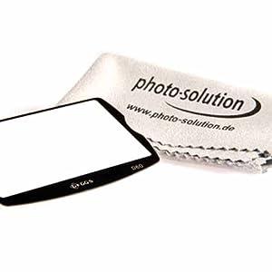 GGS LCD Displayschutz aus Glas für Nikon D60