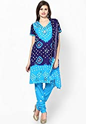 Soundarya Ethnicwear Hand Work Cotton Dress Material for Women (BS4)