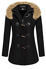 ACEVOG Women Winter Thicken Warm Hood…