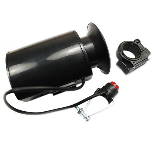 Loud Electronic MTB Bell Bicycle Horn -Black