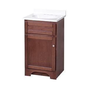 18 inch bathroom vanity with sink combo