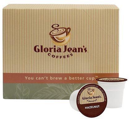 Gloria Jeans Coffees, Hazelnut Coffee, 24 Ct K-Cups For Keurig Brewers, 2 Ct (Quantity Of 2)