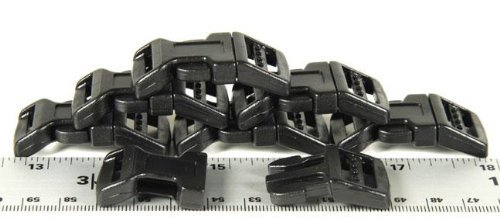"New 20-5/8"" Economy Contoured Side Release Plastic Buckles"