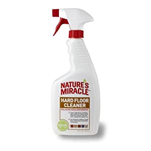 Nature's Miracle Hard Floor Stain & Odor Remover, 24-Ounce Spray