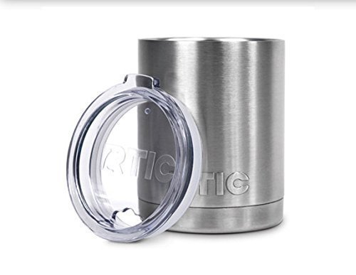 NEW RTIC Stainless Steel Lowball with Lid 10oz